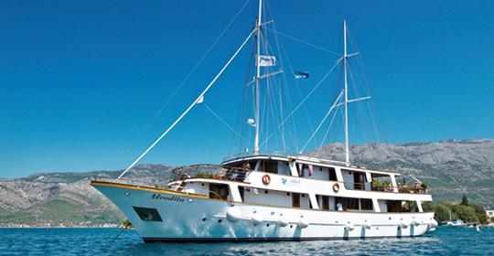Croisière de criques en îles - Croatie - voyage  - sejour