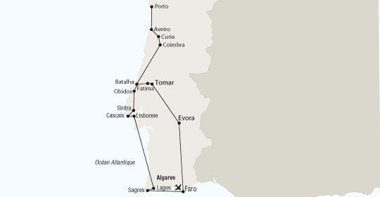 Circuit grand tour du portugal voyage portugal s jour for Sejour complet portugal