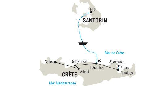 Mythes et l gendes d 39 entre 2 les cr te voyage gr ce for Santorin sejour complet