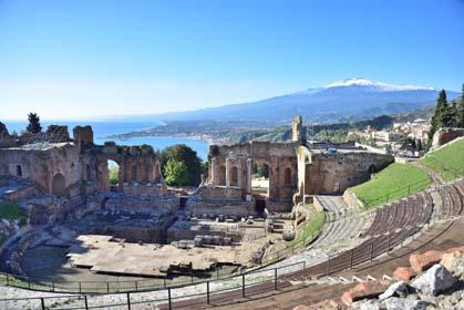 Panorama Sicilien - Sicile