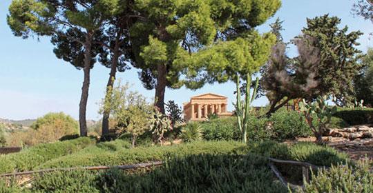 Panorama Sicilien - Sicile - voyage  - sejour