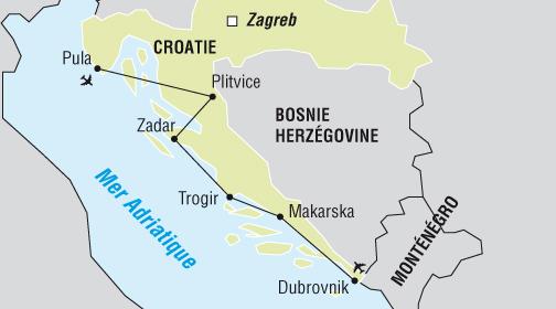 Circuit de l'Istrie à la Dalmatie - voyage  - sejour