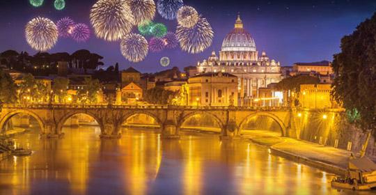 nouvel an à rome - hôtel milani - rome
