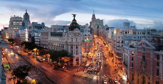 Réveillon - Ganivet - Madrid - voyage  - sejour