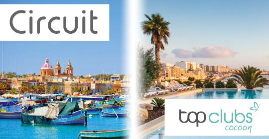 Au Coeur de Malte - Logement en hôtel 3* + Top Clubs Cocoon Salini - Malte - voyage  - sejour