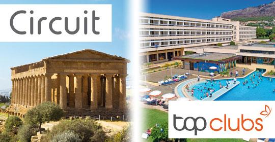 Au Coeur de la Sicile + Top Clubs Lipari - Sicile