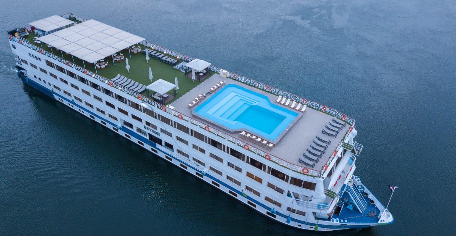 Circuit Coeur de l'Egypte - Top Clubs Cruise M/S Da Vinci 5* - Egypte